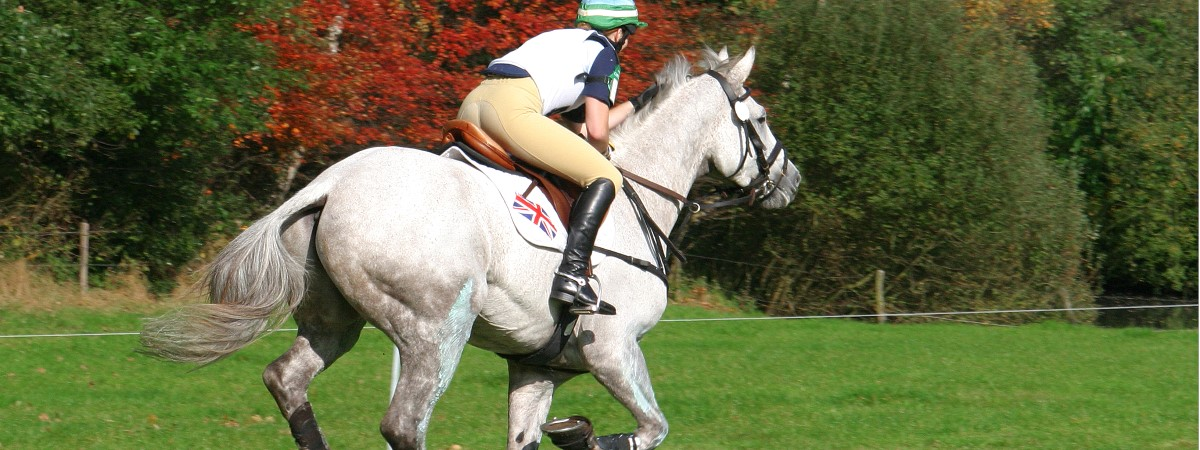 Huufe considers rider fitness for the eventing season