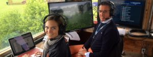 Broadcasting at Longines Showjumping competition canada