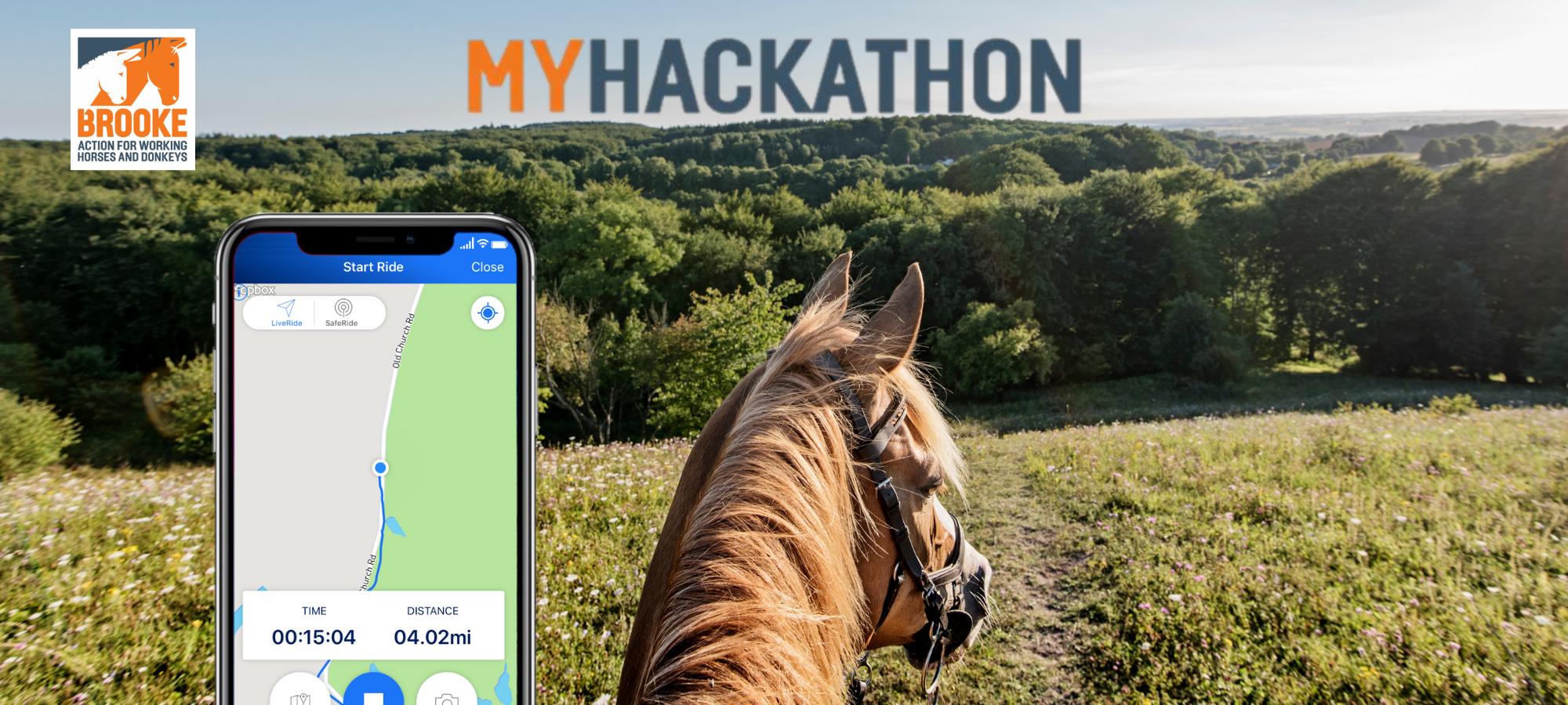 myhackaton horse riding app